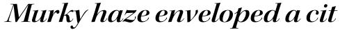 Kepler Std Display Ext SemiBold Italic sample