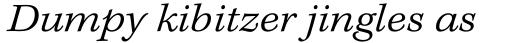 Kepler Std Caption Ext Light Italic sample