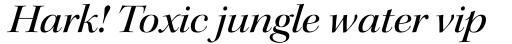 Kepler Std Display Ext Medium Italic sample