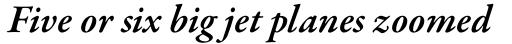 Garamond Premr Pro SemiBold Italic sample