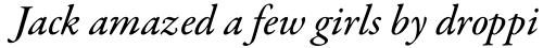 Garamond Premr Pro Med Italic sample