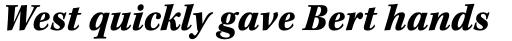 Kepler Std Caption SemiCond Black Italic sample