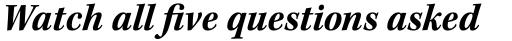 Kepler Std SemiCond Bold Italic sample