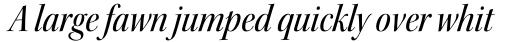 Kepler Std Display SemiCond Medium Italic sample