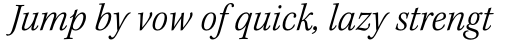 Kepler Std SemiCond Light Italic sample