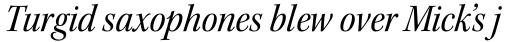 Kepler Std SubHead SemiCond Italic sample