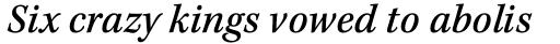 Kepler Std Caption SemiCond Medium Italic sample
