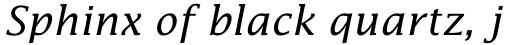 Lucida Math Italic sample