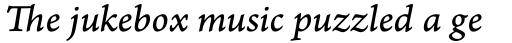 Arno Pro Caption Italic sample