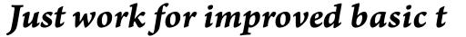Arno Pro Caption Bold Italic sample