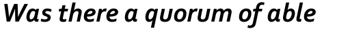 Corbel Bold Italic sample