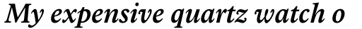 Arbesco DT SemiBold Italic sample
