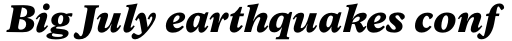 Arbesco DT ExtraBold Italic sample