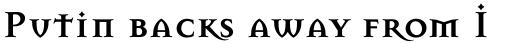 Mason Serif Bold sample