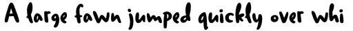 Duffy Script Bold sample