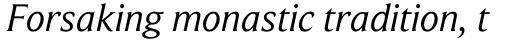 Beaufort Pro Italic sample