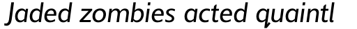 Delargo DT Infant Italic sample