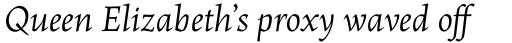 Maiola OT Italic sample