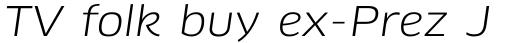 FF Clan Pro Wide Book Italic sample