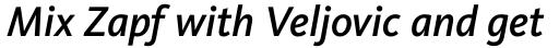 FF Kievit Pro Medium Italic sample