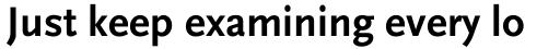 FF Scala Sans OT Bold sample