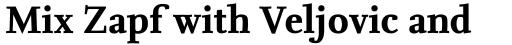 FF Nexus Serif Pro Bold sample