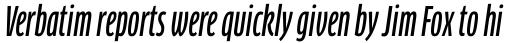 FF Clan Pro Comp Medium Italic sample