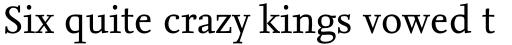 FF Nexus Serif OT sample