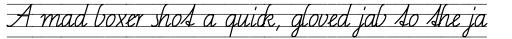 FF Schulschrift OTC Linien Vier sample