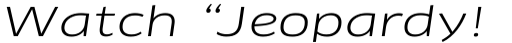 FF Clan Pro Extd Book Italic sample