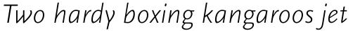 FF Scala Sans Pro Light Italic sample