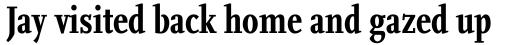 FF Scala Pro Cond Bold sample