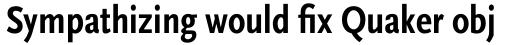 FF Scala Sans Pro Cond Bold sample