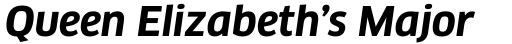 FF Clan Pro Bold Italic sample