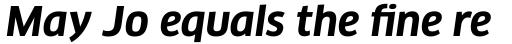 FF Clan OT Bold Italic sample