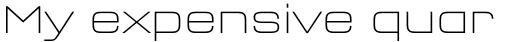 FF QType OT Semi Extd ExtraLight sample