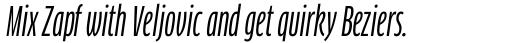 FF Clan Pro Comp News Italic sample
