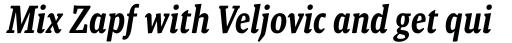 Malaga Narrow Medium Italic sample