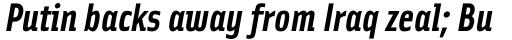 Solex Bold Italic sample