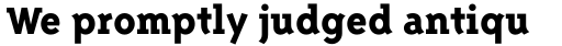 Triplex Serif ExtraBold sample