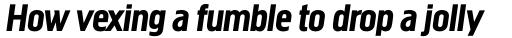 Megaphone Italic sample