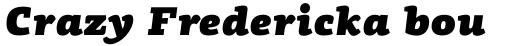 PF Centro Slab Pro UltraBlack Italic sample