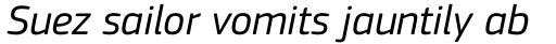 PF Square Sans Pro Italic sample