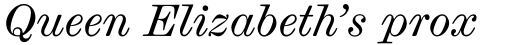 Scotch Micro Italic sample