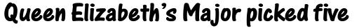 One Stroke Script Bold sample