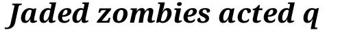 Droid Serif Pro Bold Italic sample