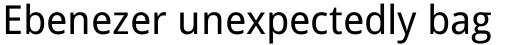 Droid Sans Pro sample
