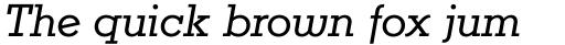 Karnak Pro Book Italic sample