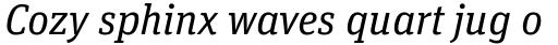 FF Unit Slab OT Italic sample
