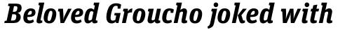 FF Unit Slab OT Bold Italic sample